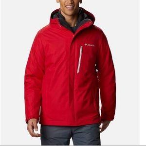 Columbia XCO Storm Dry Interchange Coat Red Sz XL